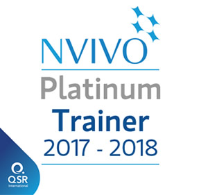 NVivo Certified Platinum Trainer 2017-2018